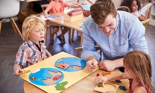 Die Kinder sollen sich ihr Wissen bei Workshops erarbeiten