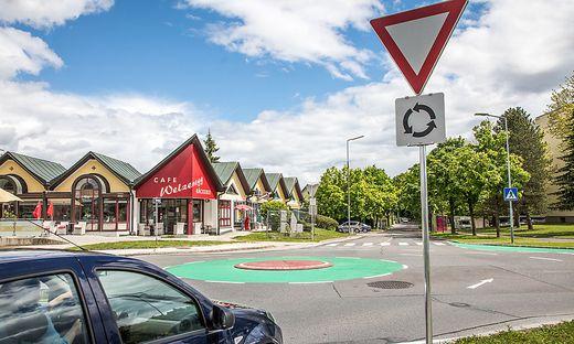 Noch gewöhnungsbedürftig: der Kreisverkehr in Welzenegg