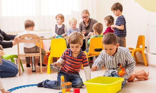 Sujetbild Kindergarten