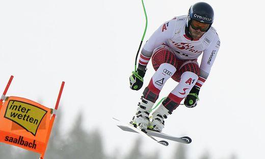 Christian Walder war am Mittwoch der schnellste Österreicher
