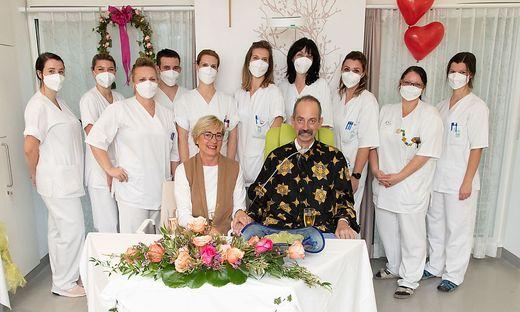 Hochzeit im Spital