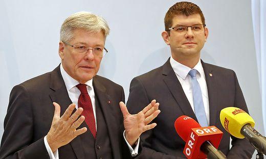 Koalitionsklima ist nicht belastet, sagen Kaiser und Gruber