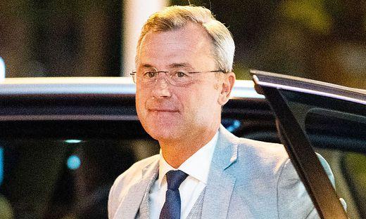 FPÖ-Parteichef Norbert Hofer suspendierte Huber