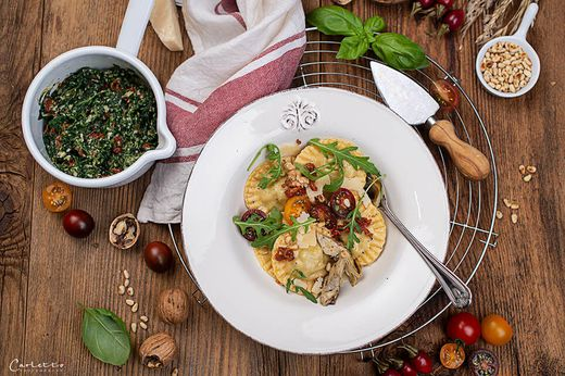 Italienisches Flair für zu Hause: selbstgemachte Ravioli