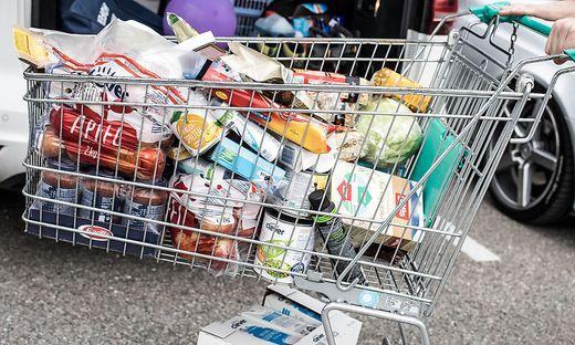 Diese Klagenfurterin hat ihren üblichen Wocheneinkauf gemacht