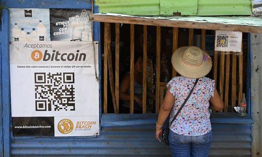 Bitcoin wird in El Salvador gesetzliches Zahlungsmittel
