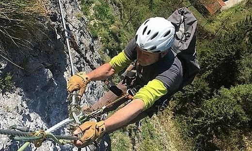 Klettersteig Griffen : Griffen : erneut zwischenfall auf klettersteig am schlossberg