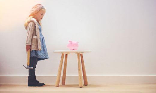 Gelderziehung sollte schon im Kindesalter beginnen
