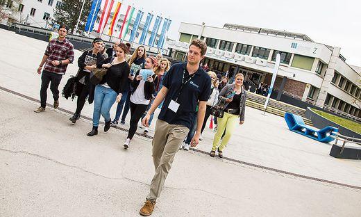 Mit neuen Studienangeboten und individueller Betreuung sollen Studenten nach Klagenfurt gelockt werden
