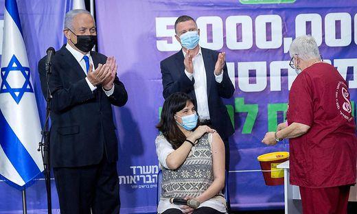 Auch der Impferfolg brachte Netanjahu keine klare Mehrheit