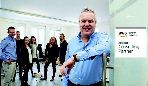 Walter Huber und sein Team sind Experten in Sachen Digitalisierung. Der E-Commerce-Boom lässt das Unternehmen jetzt noch stärker wachsen