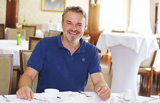 Hotelier Robert Hammer im Restaurant seines Hotel Böhlerstern
