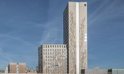 Im Holz-Hochhaus (HoHo) wird es auch Hotelzimmer geben