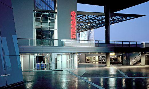 Die Zentrale der Strabag in Wien