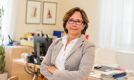 Gabriele Semmelrock-Werzer  Sprecherin des Vorstandes der Kaerntner Sparkasse AG