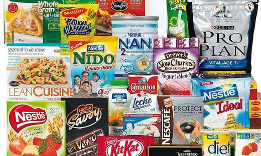 Nestle hat ein riesiges Produktportfolio