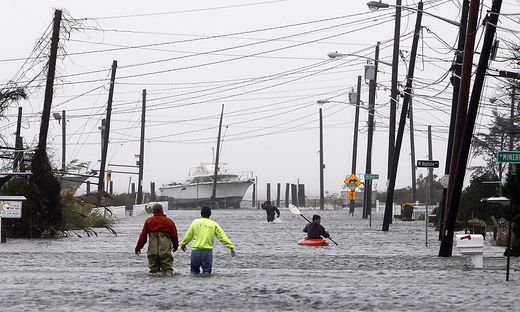 """Seit dem Hurrikan """"Sandy"""" Ende 2012 zweifeln auch die New Yorker nicht mehr am Klimawandel"""