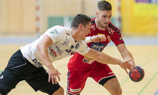 Ferlach gegen Krems (in Rot) im Viertelfinale
