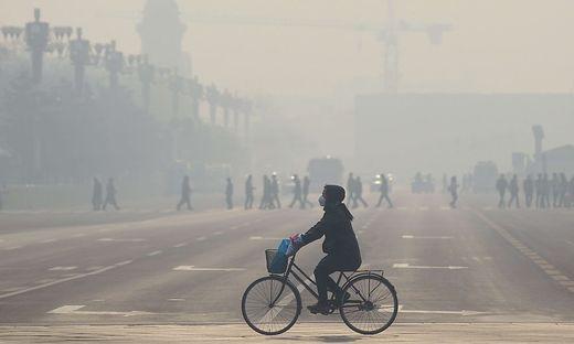 Alltägliche Luftverschmutzung, hier in China
