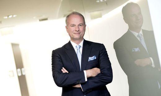 Seit März 2016 an der Spitze der ams AG: Alexander Everke