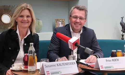 Susanne Kaltenegger und Peter Koch zogen nach fünf Jahren Bilanz