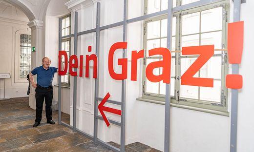 """Karl Kubinzkys Archiv-Schätze werden in der Ausstellung """"Dein Graz"""" gezeigt"""