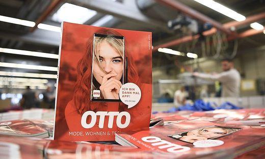 Druck des letzten Otto-Katalogs