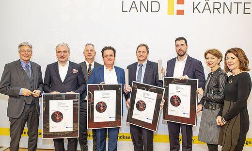 Preisverleihung Innovations- und Forschungspreis des Landes Kaernten 2019