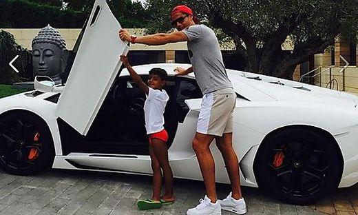 Cristiano Ronaldo & Cristiano junior