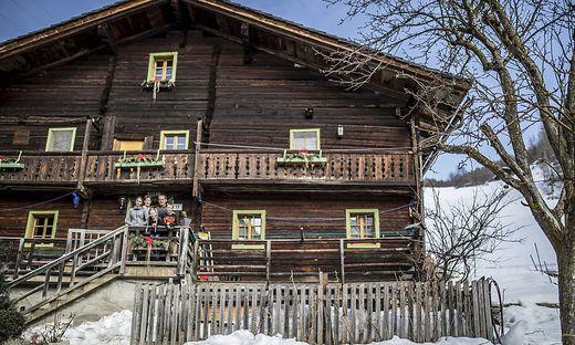 Reportage Bergbauernhof Familie Gorgasser Heiligenblut Februar 2019
