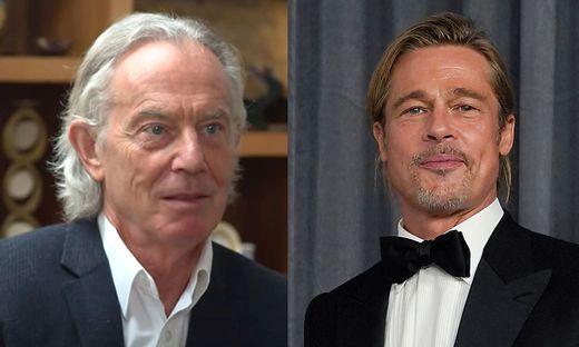 Tony Blair ist Langhaar-Novize, Brad Pitt Langhaar-Profi