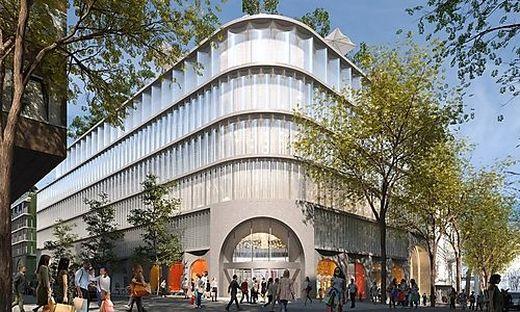 """Bis Herbst 2024 entsteht im ehemaligen Leiner-Flaggschiff auf der Mariahilfer Straße ein Kaufhaus nach Vorbild des Berliner """"KaDeWe"""""""