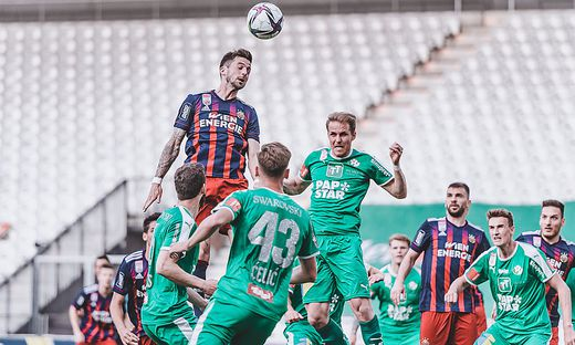 FUSSBALL: TIPICO BUNDESLIGA / MEISTERGRUPPE: WSG SWAROVSKI TIROL - SK RAPID WIEN