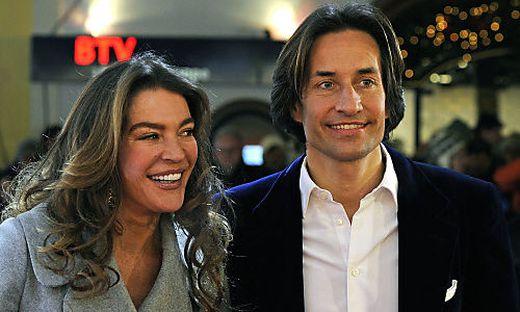Karl-Heinz Grasser mit seiner Frau Fiona 2011