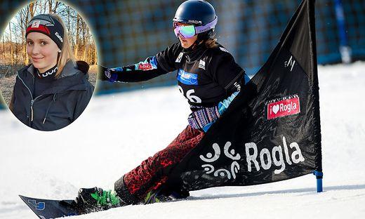 Die 16-jährige St. Veiterin Pia Schöffmann zählt zu den größten heimischen Snowboard-Talenten