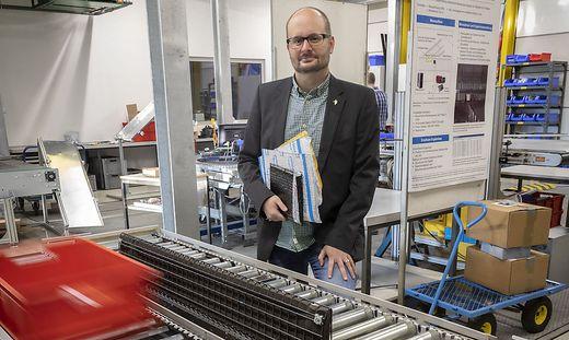 TU Graz, Institut für Technische Logistik, Prof. Landschützer