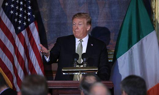 US-Präsident Donald Trump bleibt bei seiner Drohung