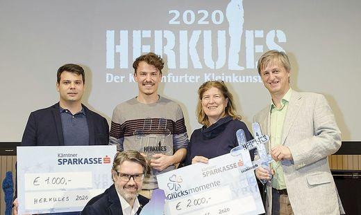 Döring (zweiter von links) gewann den Herkules