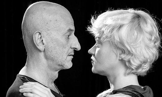 """Oliver Vollmann und Nadine Zeintl in """"Clarisse und ihre Dämonen"""""""