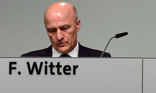 Finanzvorstand Frank Witter