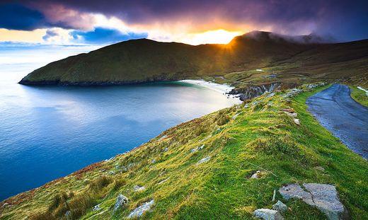 Auch Achill Island ist ein Ziel der Rundreise