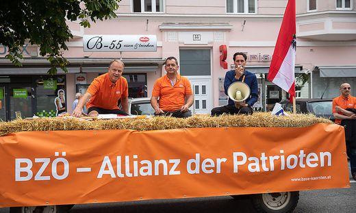 Das BZÖ Kärnten im Wahlkampf 2019
