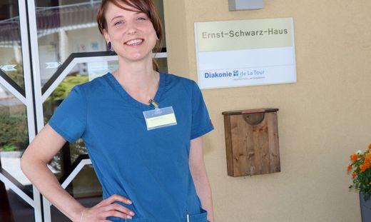 Corinna Rechak arbeitet mittlerweile seit über 15 Jahren mit Begeisterung als Krankenschwester