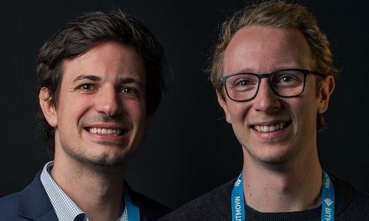 Bitmovin-Gründer Stefan Lederer und Christopher Müller