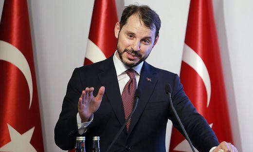 Finanzminister Berat Albayrak