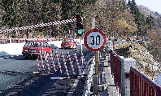 Die Völkermarkter Draubrücke wird heuer ab Herbst umfassender als geplant saniert