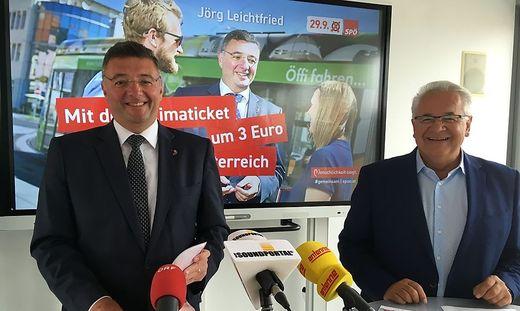 Leichtfried und Pirker