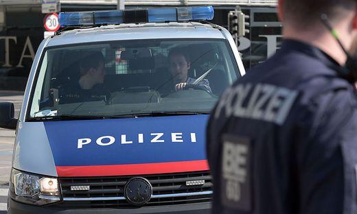POLIZEIKONTROLLEN AUF DEM DONAUKANAL