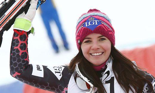 Die Liechtensteinerin Tina Weirather