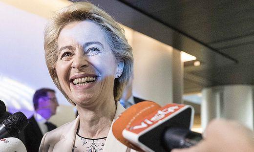 Gratuliert Kurz: Die künftige EU-Kommissionspräsidentin Ursula von der Leyen